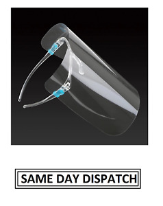 Reusable Full Face Shield Anti Fog Glasses Guard Protection Face Safety Visor