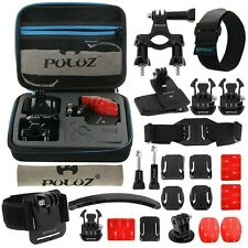For GoPro HERO7/6/5/4/3/2/1, 24 in 1 Bicycle Mount Accessories Bundles Combo Kit