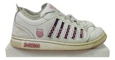 K SWISS Trainers Size 7 White Pink Casual Everyday Skareboard Active Gym Running