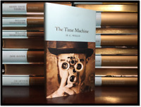 The Time Machine by H.G. Wells Brand New Deluxe Cloth Bound Collectible Edition
