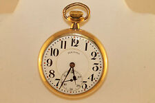 Vintage Antique 1918 Illinois 16s 17 Jewel Open Face Grade 304 Pocket Watch