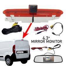 Reversing Reverse Camera & Mirror Monitor Works With Vauxhall Opel Combo Van