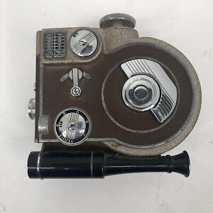 1947 Vintage REVERE EIGHT Model 70 Magazine Cine 8 Movie Video Camera with tape