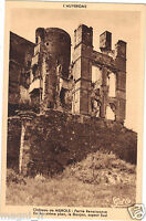 63 - cpa - Le château de MUROLS