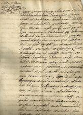Lucca Beneficio a Bernardino Torre Vanni Rettore Spedale della Misericordia 1759