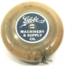 Vintage Advertising Measuring Tape Globe Machinery & Supply Co 60 inch
