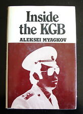 1st Edition 1976 - Inside the KGB by Aleksei Myagkvov - Hardcover / dust jacket