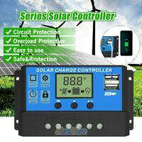 60A MPPT Solar Panel Regulator Charge Controller Auto Focus Tracking 12V/24V USA