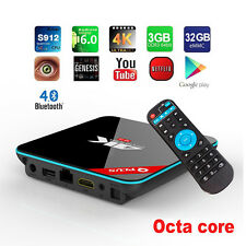 Q+ Plus QBox+ Octa-Core Android Bluetooth Dual WiFi Smart Movie OTT TV Box Set