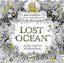 Coloring Book Lost Ocean An Inky Adventure by Johanna Basford Art Therapy Voyage