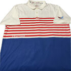 Puma Volition America USA Golf Polo Shirt Drycell Patriotic Flag Men's | Size XL