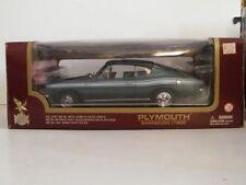 Yat Ming Road Legends 1:18 1969 Plymouth Barracuda 383 Die Cast Car