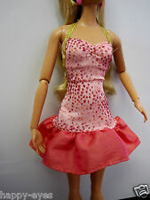 Barbie Doll Shoes/Clothes *Mattel Sparkly Dress New #25a