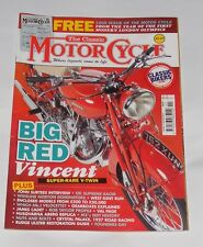 THE CLASSIC MOTOR CYCLE NOVEMBER 2012 - BIG RED VINCENT/JOHN SURTEES INTERVIEW