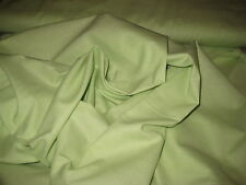 """Pale Lime Green 100% Cotton Fabric 45"""" W BTY"""