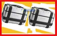 KIT 2 VALIGIE  GIVI  TREKKER  TRK33 LT 33 TRK 33 ALLUMINIO TRK33PACK2