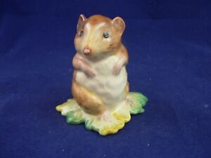 """BESWICK Beatrix Potter"""" TIMMY WILLIE FROM JOHNNY TOWNMOUSE BP1a GOLD CIRCLE"""