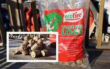 Pallet Load Ecofire Value Wood Briquettes Heatlogs - 50 x 20kg - Free Delivery!