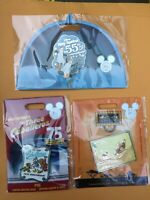 2019 D23 DISNEY EXPO EXCLUSIVE 3 PIN SET LION KING MARY POPPINS THREE CABALLEROS