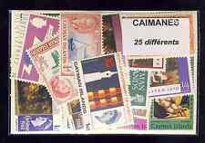 Iles Caimanes - Cayman Islands 10 timbres différents