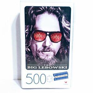 The Big Lebowski 500 Piece Puzzle in Plastic Retro Blockbuster VHS Video Case