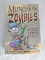 Munchkin Zombies Edition SJG 1481 Steve Jackson Games Core Set Card Game NEW