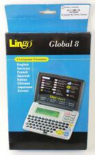 LINGO TR-800A Global 8 Language Translator German/Chinese/Japanese NEW! FREE S/H