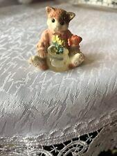 Mini Enesco Cat Figurine