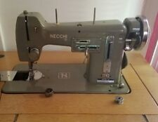 Vintage Necchi Bu Mira Sewing Machine Works, Made in Italy, With Knee Lever