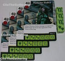 4 X MADAME HYDRA: VIPER 24 Deadpool Dice Masters