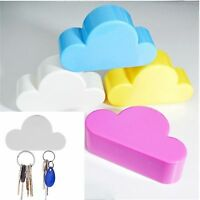 1PC Lovely Cloud Shape Magnetic Wall Key Holder Keychains Hanger Home Decoration