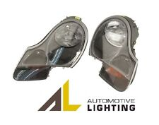 Porsche Boxster Headlight Assembly w/Clear Turn Signal Lens Halogen Left & Right