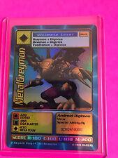 Digimon TCG MetalGreymon DW-01 Rare PS Game Promo Holographic Foil