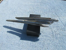 "Vintage Hood Ornament 1937 Car Flying Lady"" Art Deco ERA ""Mascot Pontiac"