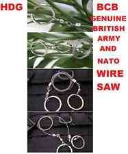 GENUINE BRITISH ARMY BCB / MOD COMMANDO WIRE RING SAW SAS SF SURVIVAL BUSHCRAFT
