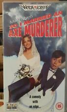So I Married An Axe Murderer (VHS Video 1994) Mike Myers NEW Sealwd W/S Rare