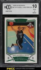 2008 Bowman Russell Westbrook ROOKIE RC #114 BCCG 10