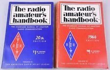 (2) Arrl Radio Amateur's Handbook, 1943 & 44, 1st Printings.