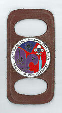 2015 World Scout Jamboree SCOUTS OF CHINA (TAIWAN) Contingent SCOUT SCARF WOGGLE