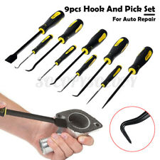 9Pcs Car Automotive Long Hook Pick O-Ring Seal Remover Scraper Craft Hook Tool