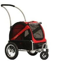 Doggyride Mini Dog Stroller - Rebel Red Pet $330 1-2 Dogs Up To 45 Pounds Total