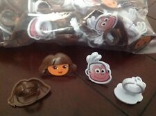 NEW! CAKE DECORATION CUPCAKE RINGS / TOPPERS--45--DORA THE EXPLORER BOOTS