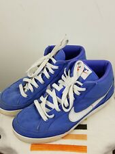 Nike azul mujer Chicas Altas Con Cordones Entrenador Talla 5.5 Reino Unido