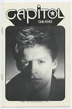 Bryan Adams Authentic 1984 One-show-only Concert Program