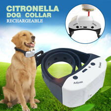 Rechargeable Citronella Dog Anti Bark Spray Collar Stop Barking Training