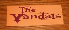 The Vandals Look What I Almost Stepped In Bumper Sticker Decal 2000 Promo 5x2