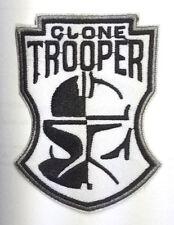 Star Wars - Aufnäher - Clone Trooper bw - Uniform Patch neu zum aufbügeln