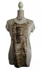 RICH & ROYAL Shirt Top T-Shirt Gr. S beige