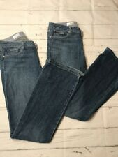 "Gap 30/10r curvy jeans 1969 Women's 2 Pair Stretch Whiskered 32"" Inseam"