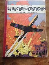 le secret de l'espadon la poursuite fantastique 1957 blake et mortimer
